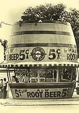 A&W Root Beer Barrel