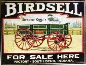 Birdsell farm wagon