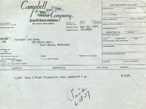 Campbell Box and Tag letterhead