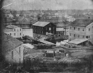 J.C. Birdsell factory West Race South Bend, Indiana
