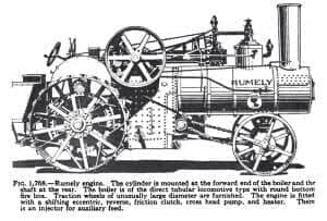 Rumely Steam Engine